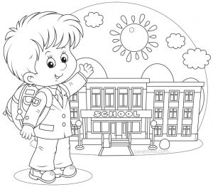 Coloring pages for elementary school kids free 001