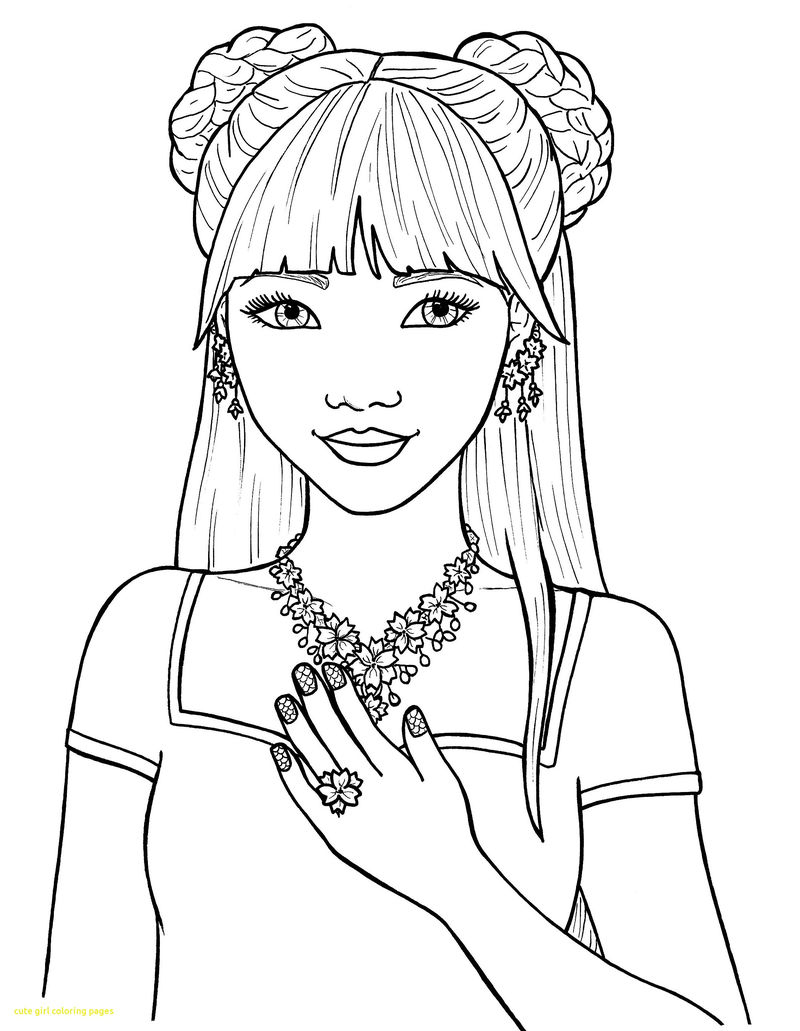 Coloring Pages For Girls Free 001
