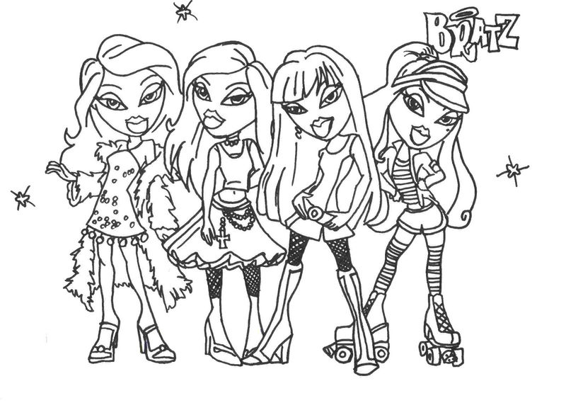 Coloring Pages For Girls Online Easy