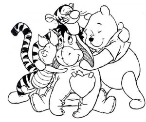 Coloring pages for kids disney