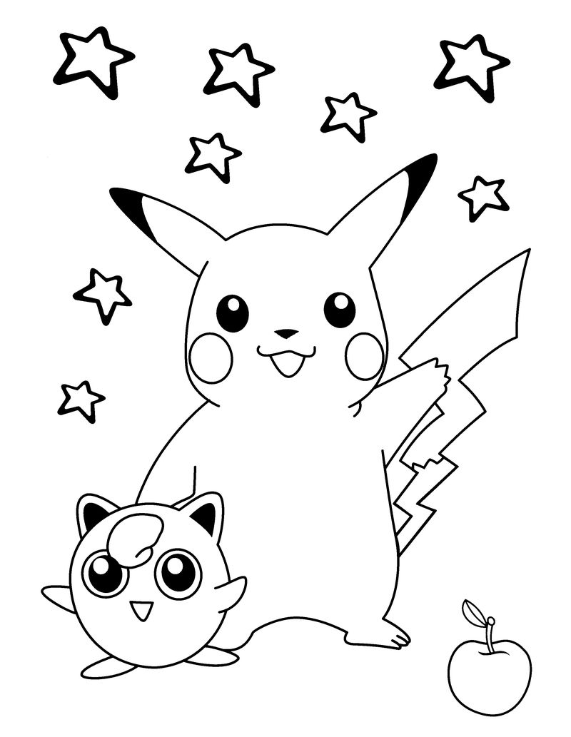 Coloring Pages For Kids To Print Pokemon