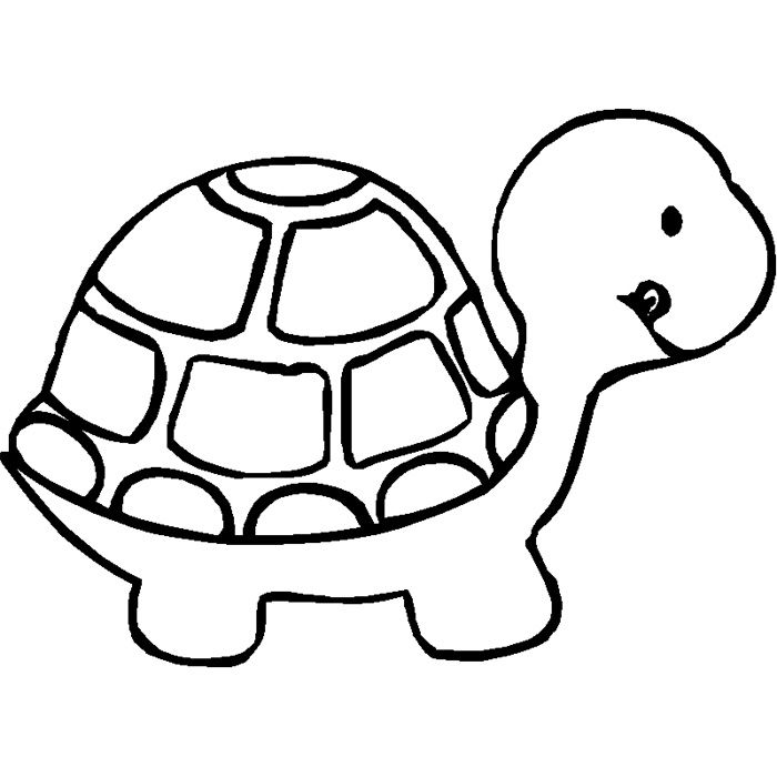 Coloring Pages For Toddlers Animals