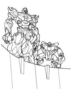 Coloring pages for transformers1