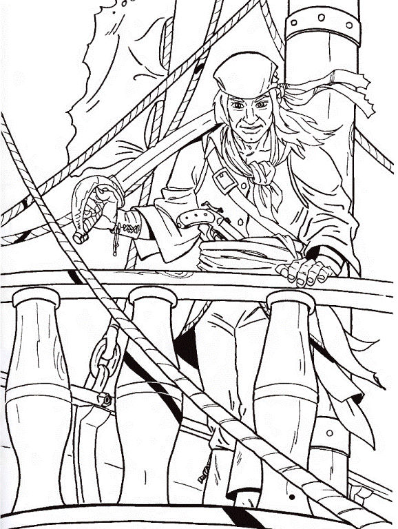 Coloring Pages Jake And The Neverland Pirates