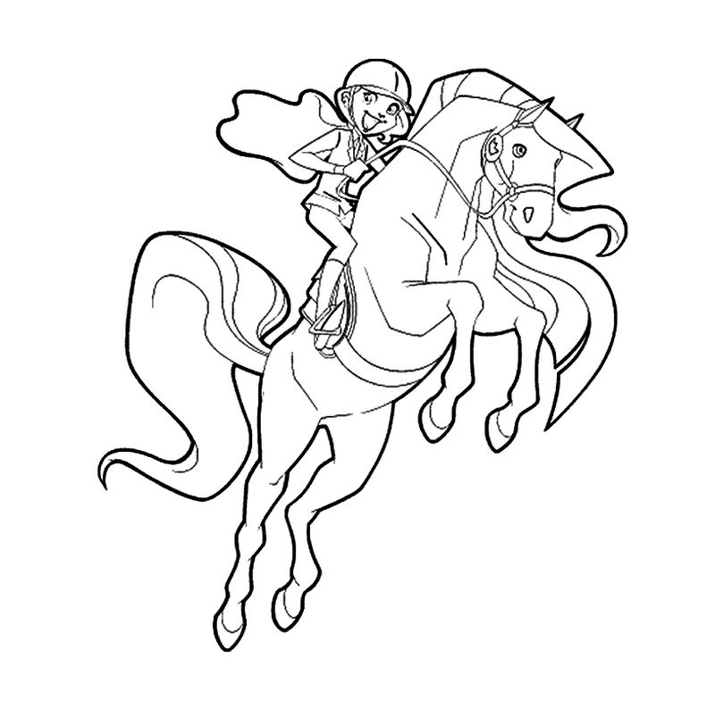 Coloring Pages Of Horseland