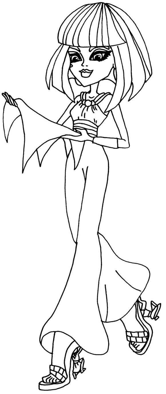 Coloring Pages Of Monster High Images