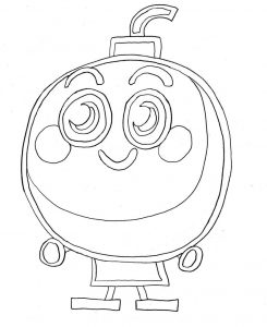 Coloring pages of moshi monster 001