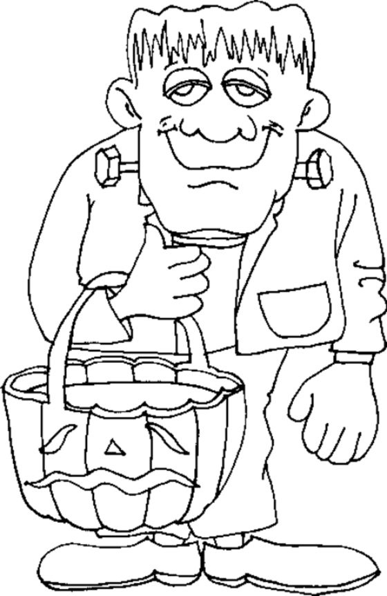 Coloring Pages Printable Halloween 1 001