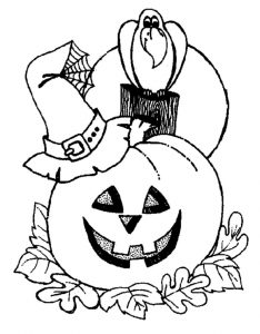 Coloring pages printable halloween 2 001