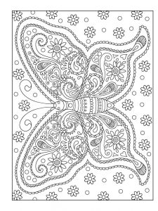Coloring pages to color adult