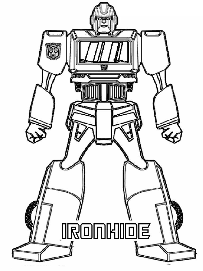 Coloring Pages Transformers1