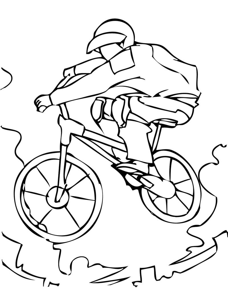 Colouring Pictures For Children Sports