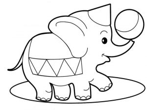 Colouring pictures for toddlers animal