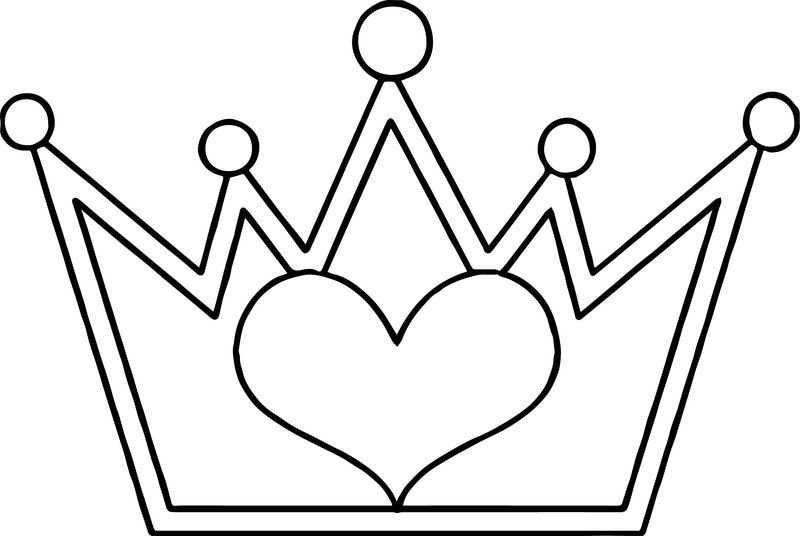 Copies Of This Cute Princess Crown At Least Two Per Guest Coloring Page