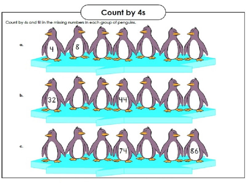 Count By 4s Fun