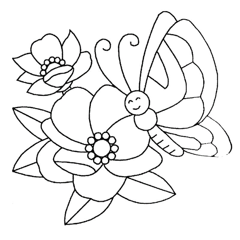 Crayola Coloring Pages Flowers - Coloring Sheets