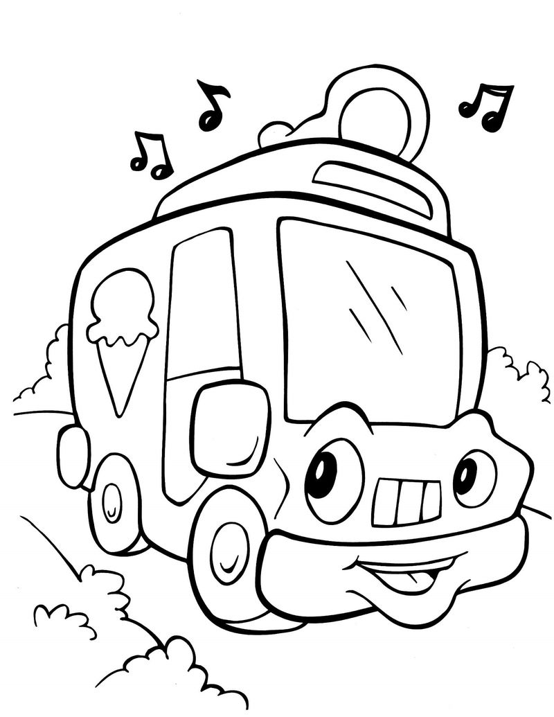 Crayola Coloring Pages Vehicle