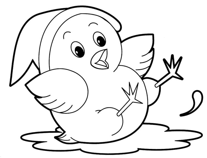 Cute Baby Jungle Animal Coloring Pages - Coloring Sheets