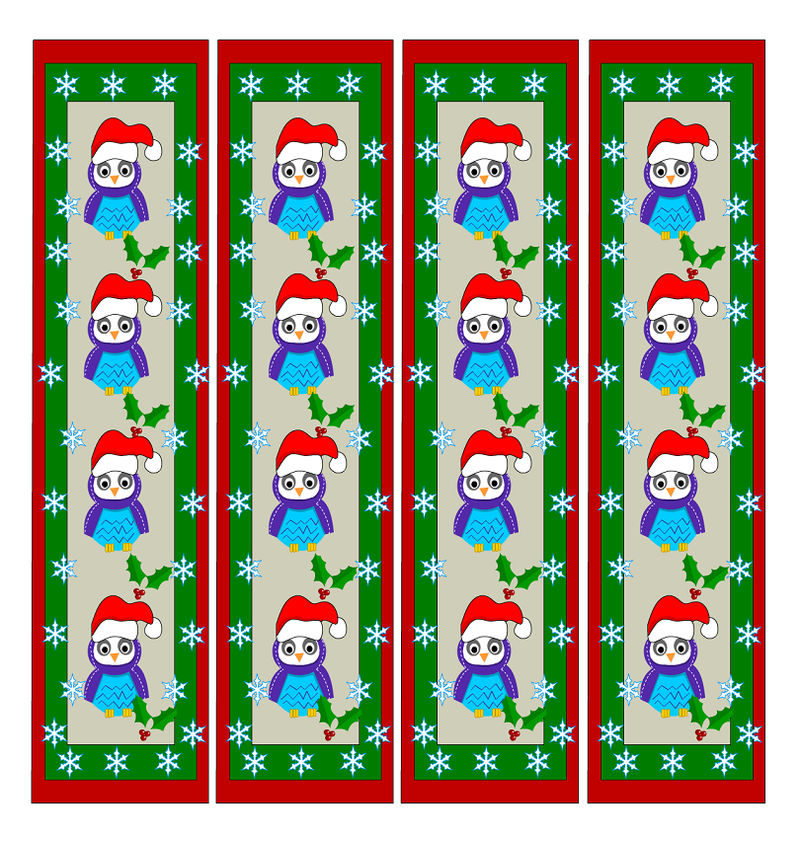 Cute Bookmarks For Kids Christmas1 001