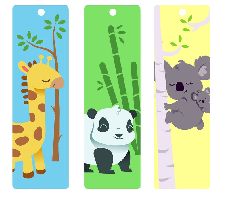 Cute Bookmarks For Kids Printable 001