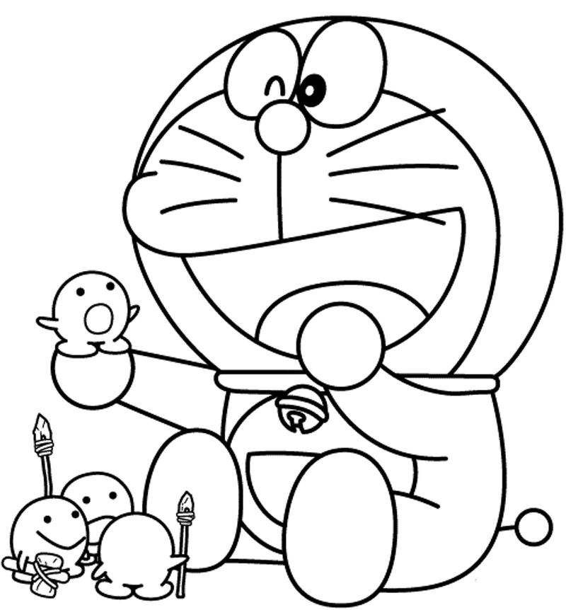 Cute Cartoon Coloring Pages