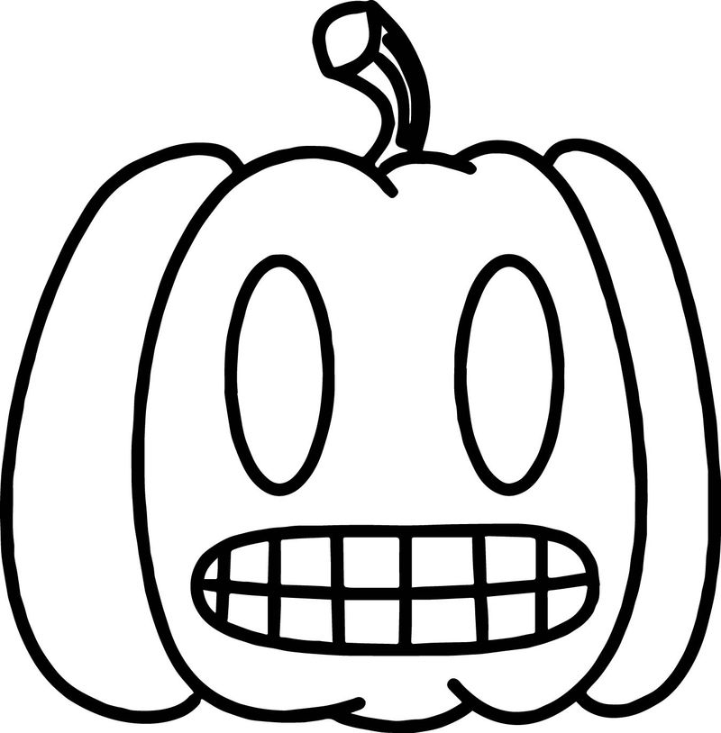 Danny Phantom Pumpkin Coloring Page