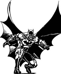 Dc batman coloring page