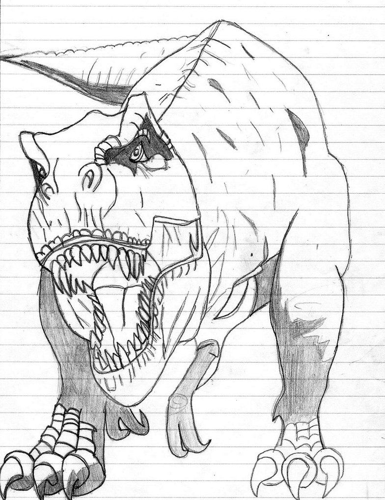 Dinosaur Coloring Pages Online