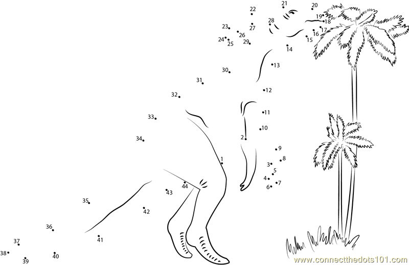 Dinosaur Dot To Dot Activities