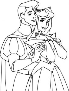 Disney aurora and phillip coloring pages 37