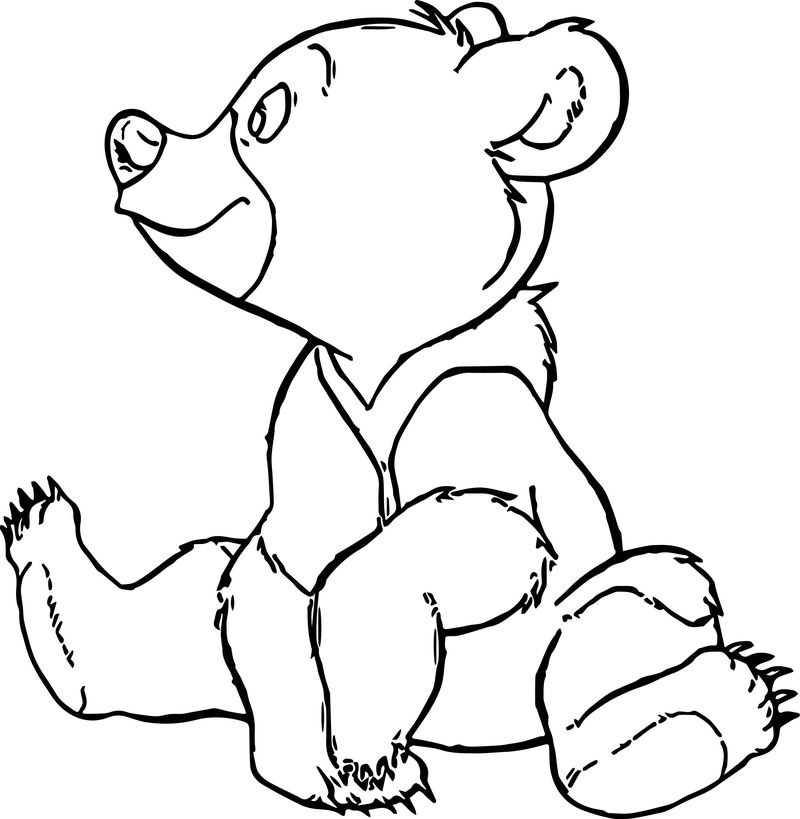 Disney Brother Bear Coloring Pages 09