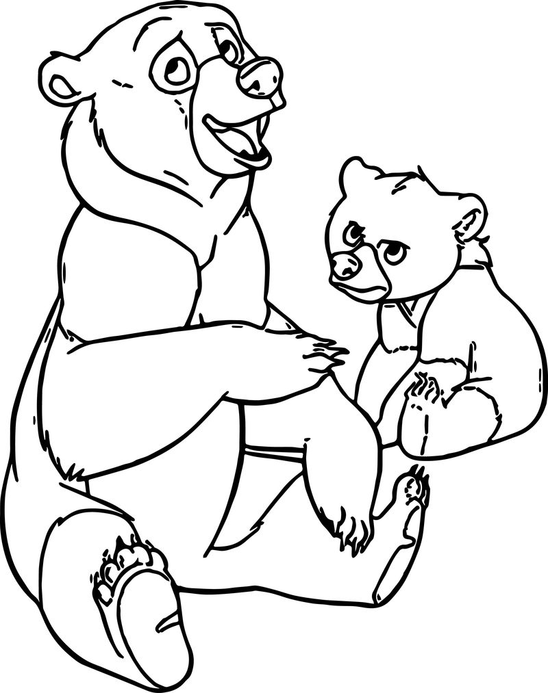 Disney Brother Bear Coloring Pages 10