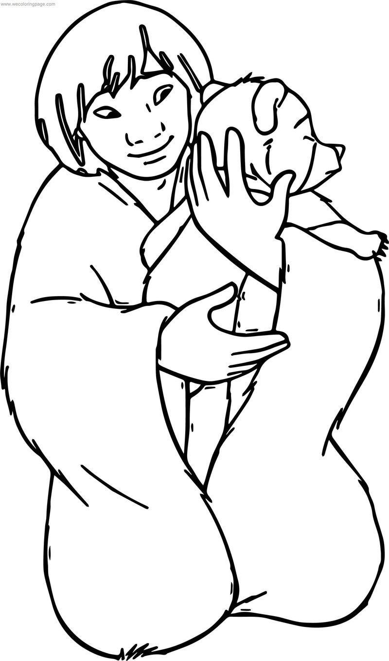 Disney Brother Bear Love Coloring Pages