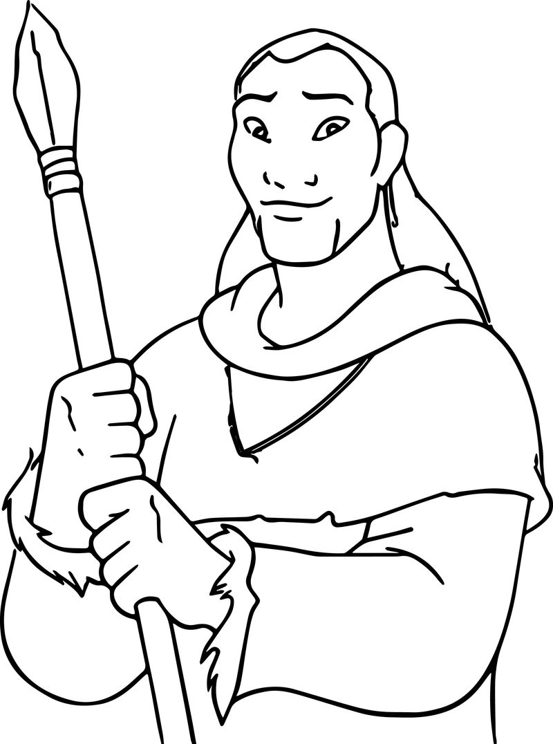 Disney Brother Bear Man Coloring Pages