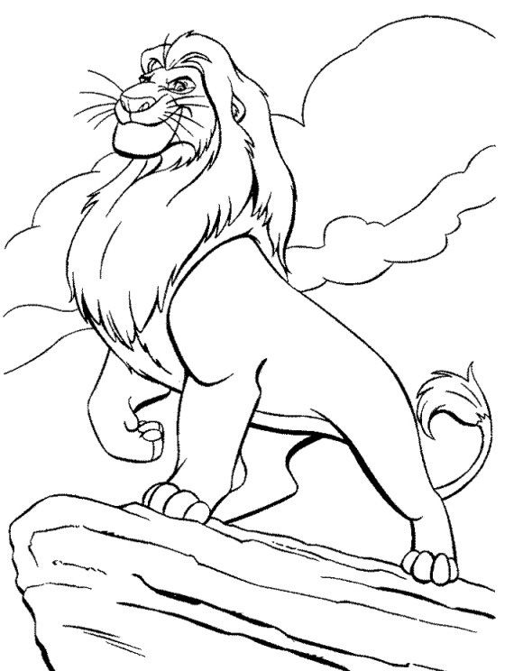 Disney Coloring Pages For Boys 001