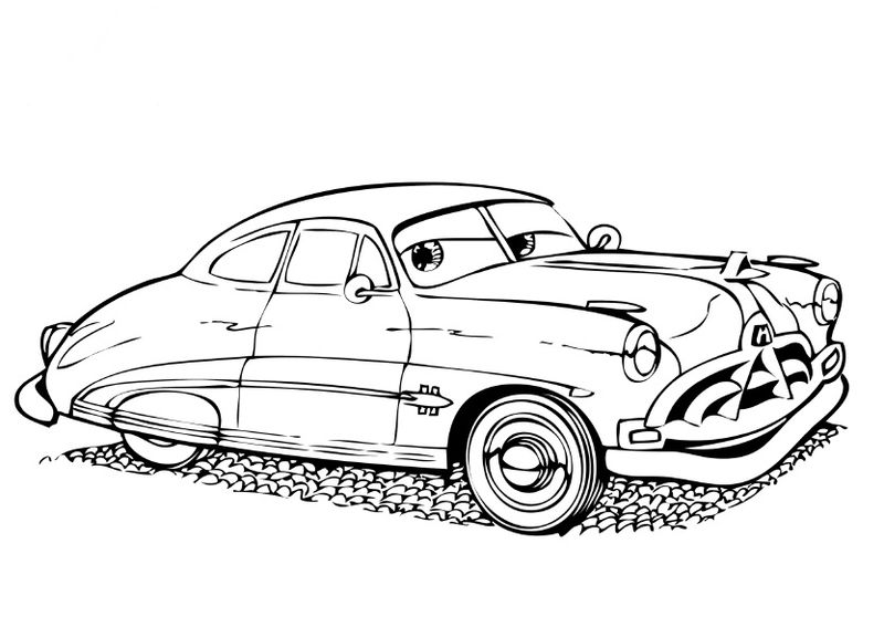 Disney Coloring Pages For Boys Cars