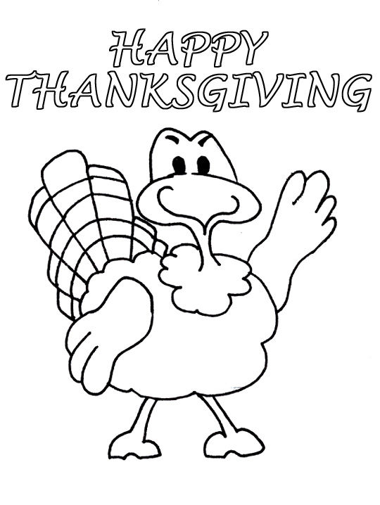 Disney Coloring Pages For Thanksgiving