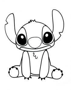 Disney coloring pages stitch