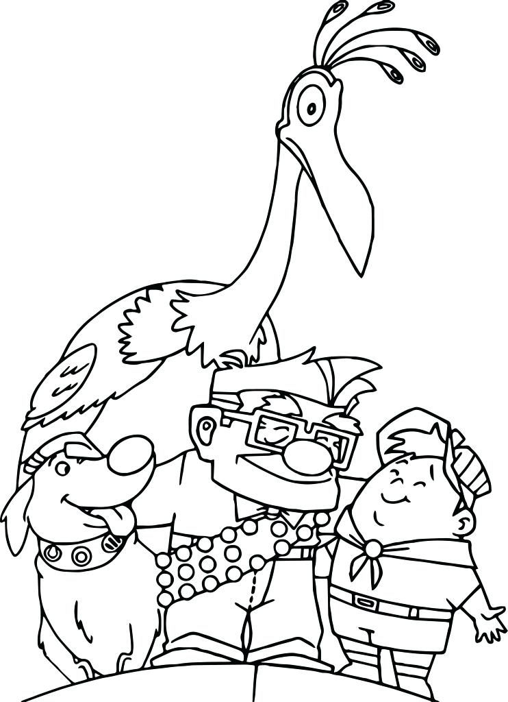 Disney Coloring Pages Up