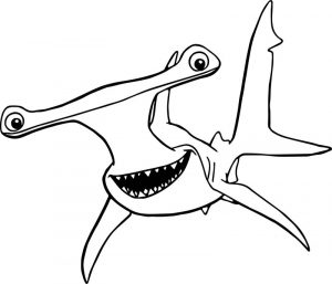 Disney finding nemo anchor coloring pages
