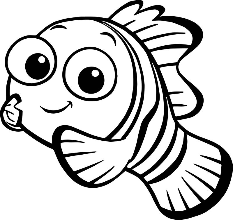 Disney Finding Nemo Nemo Coloring Pages
