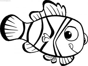 Disney finding nemo new coloring pages
