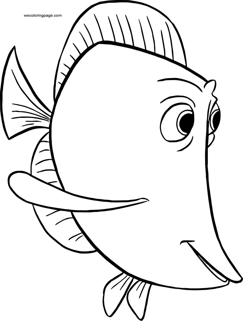 Disney Finding Nemobubbles 214145001 Coloring Pages