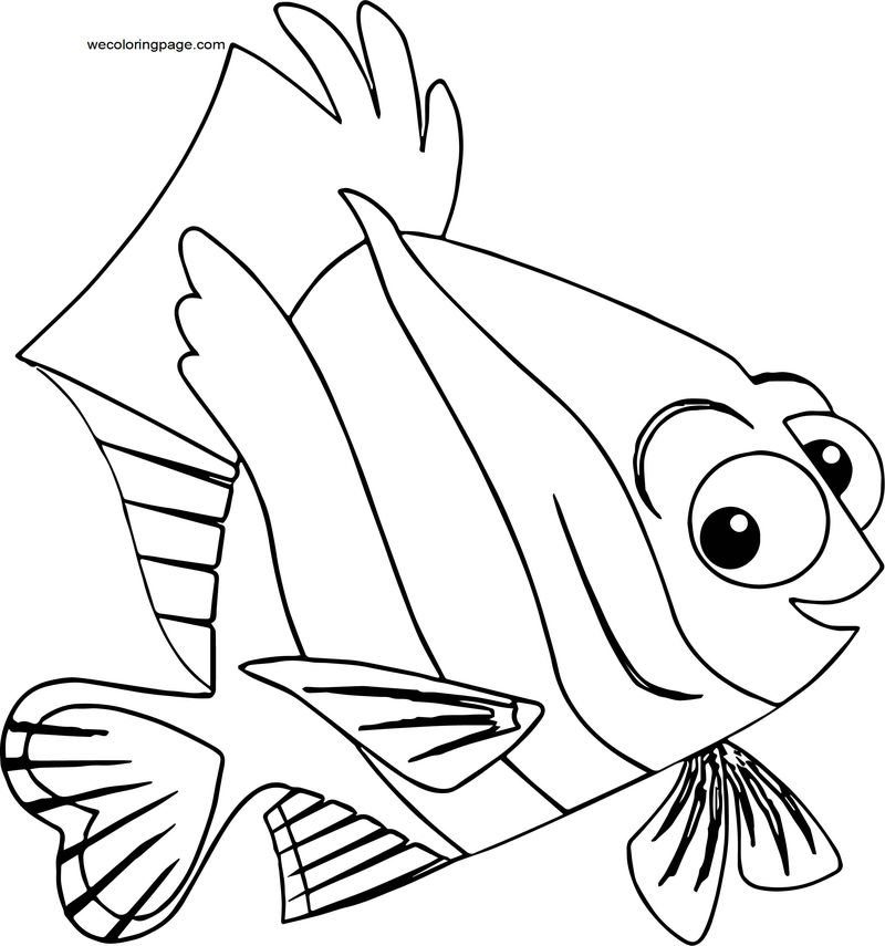 Disney Finding Nemodeb Coloring Pages