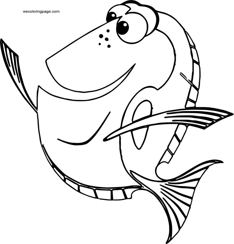 Disney Finding Nemodory 1 Coloring Pages