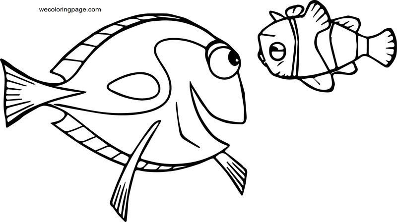 Disney Finding Nemodory 21 Coloring Pages