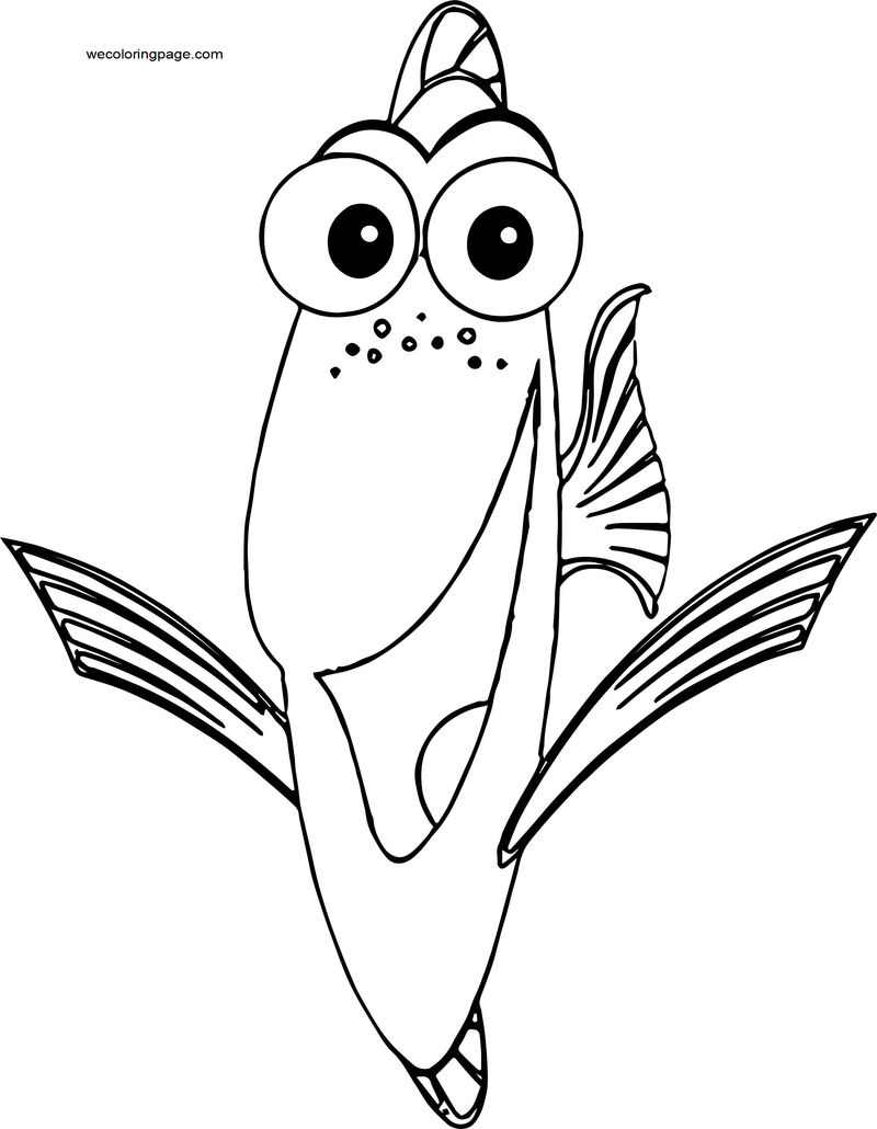 Disney Finding Nemodory 3 Coloring Pages