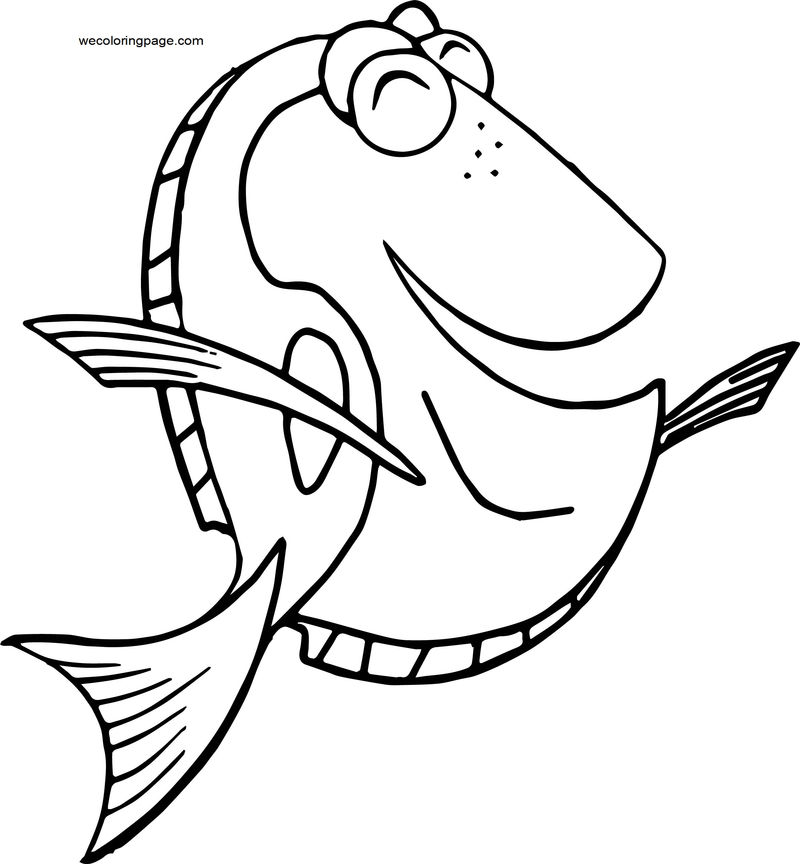 Disney Finding Nemodory 4 Coloring Pages