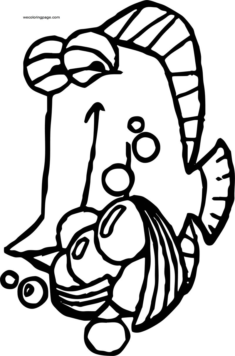 Disney Finding Nemopfg 25 Coloring Pages