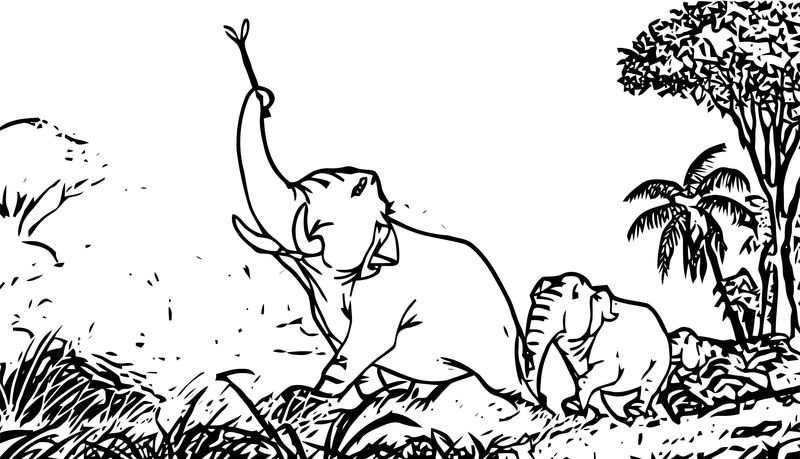 Disney Jungle Book Coloring Page 47